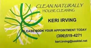 Keri Irving – House Cleaning